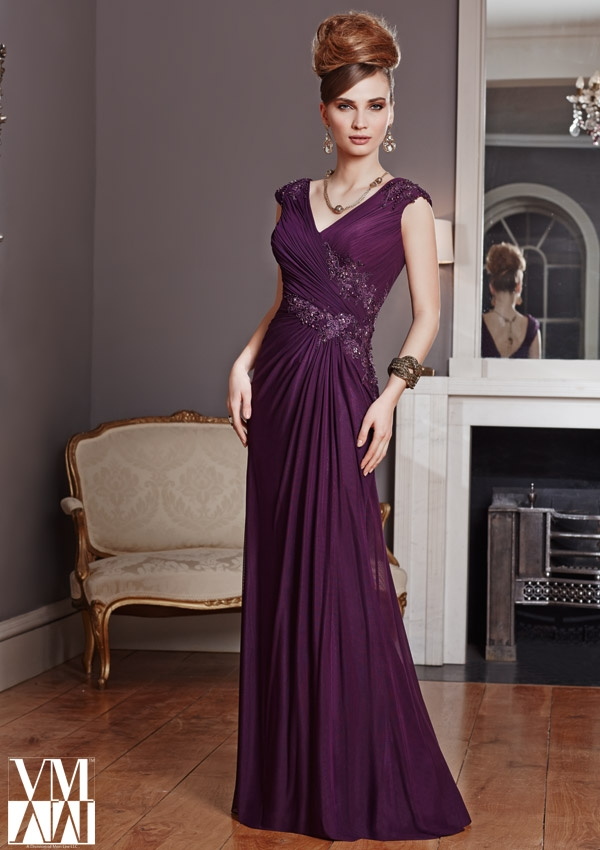 VM Collection 70805 Mothers Evening Dress: French Novelty
