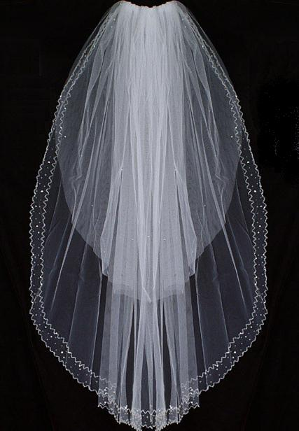 V1001-Double Layer Veil