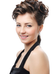 Wedding Hairstyle No. 9