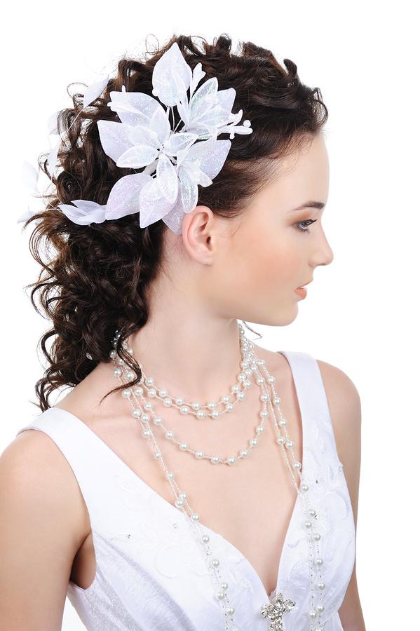 Wedding Hairstyle Y34 – ZOE Half Up