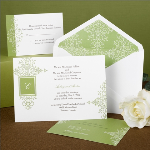 Wedding Invitations Design No. I10