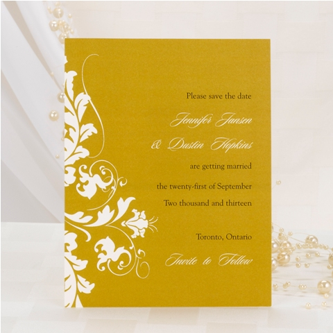 Wedding Invitations Design No. I12