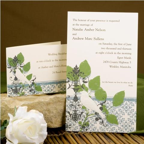 Wedding Invitations Design No. I17