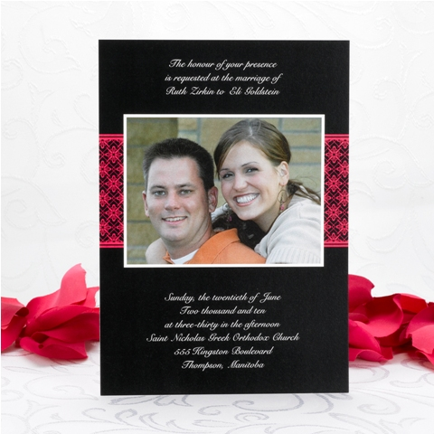 Wedding Invitations Design No. I19