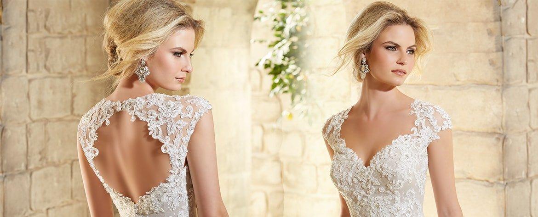 MoriLee wedding dress at Bella's Brides