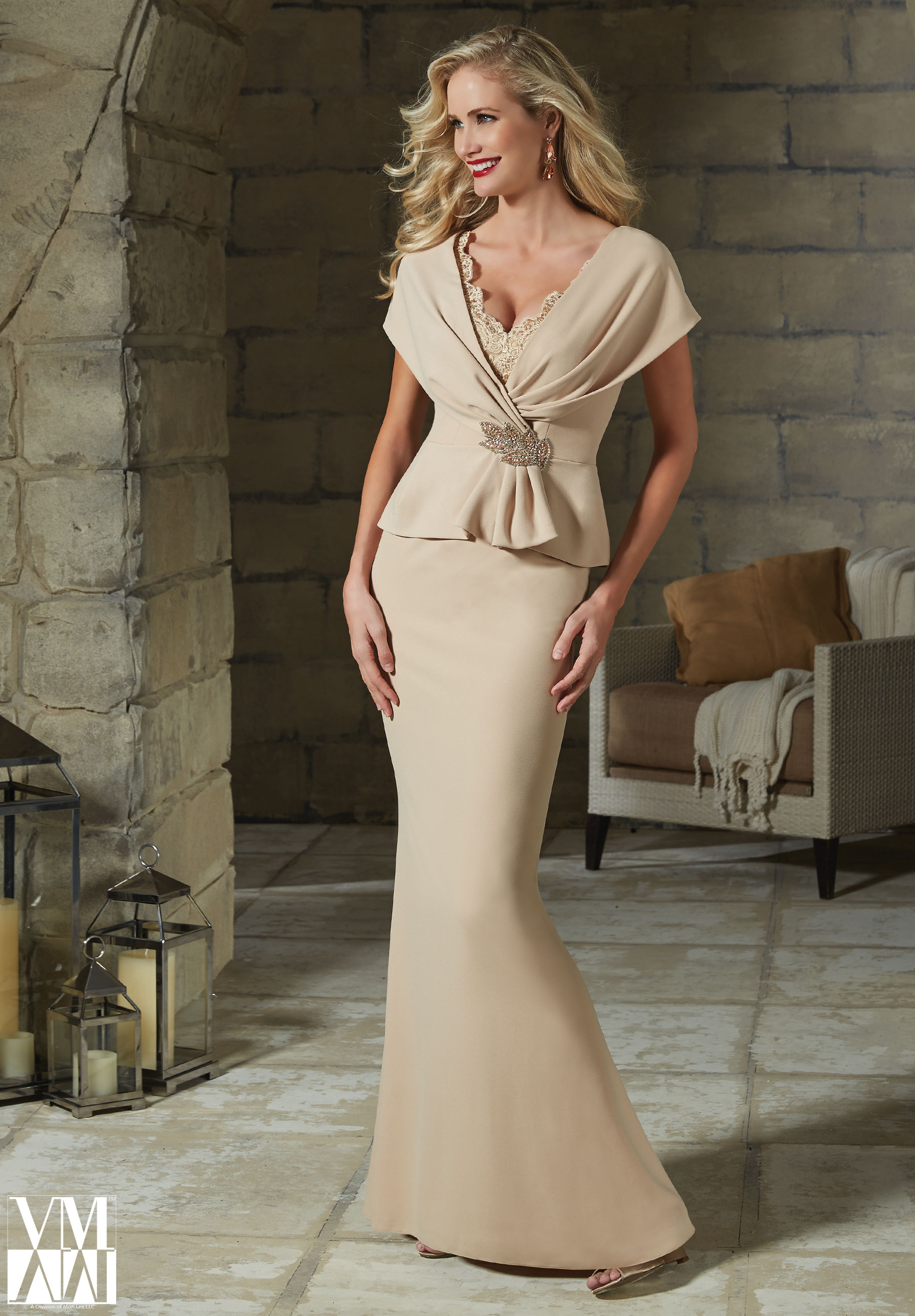 VM By Mori Lee - Gown - 70903 — Mother of the Bride