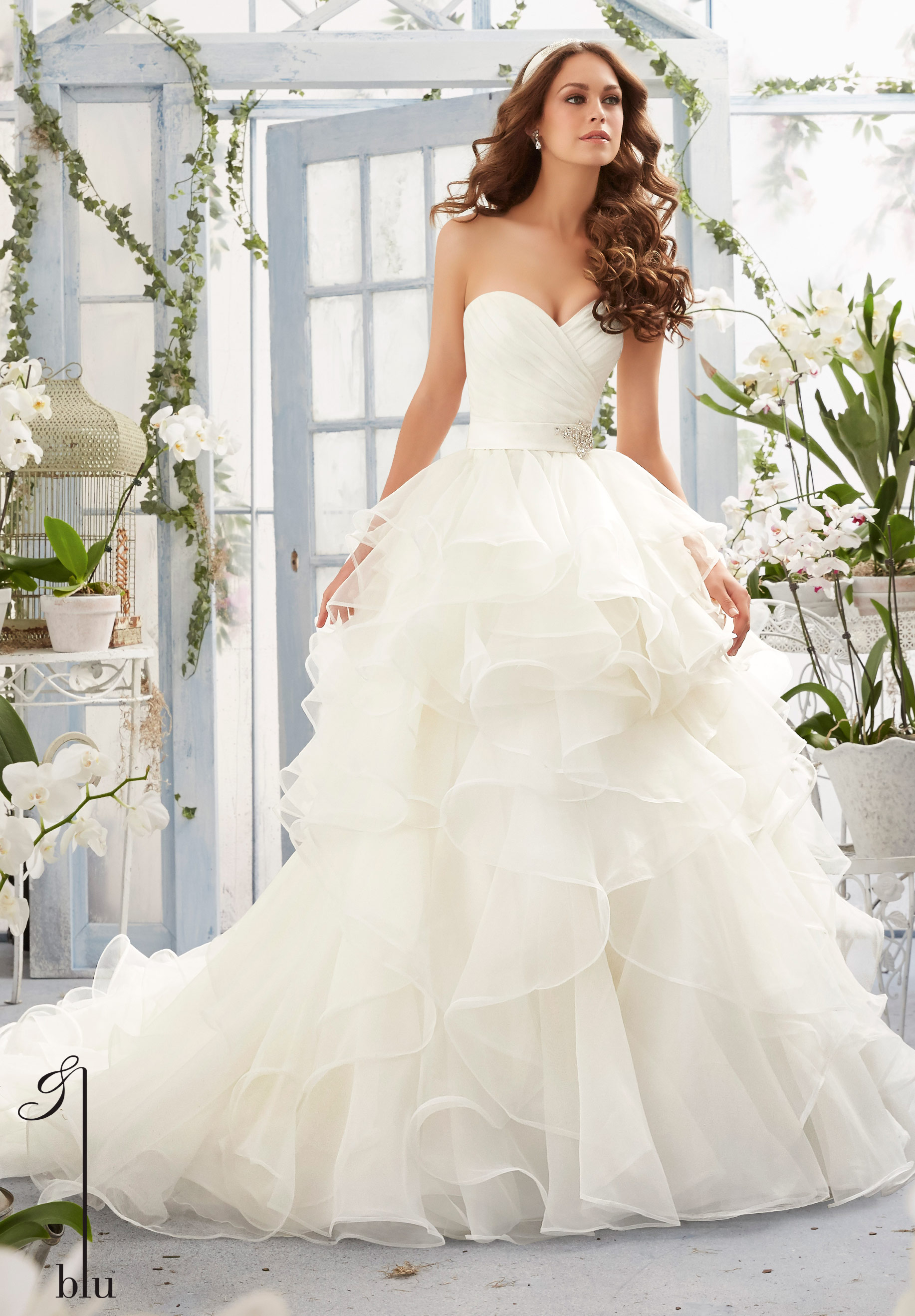 Wedding dresses mori lee style for Mori lee wedding dresses