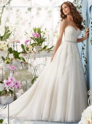 Mori Lee wedding dress 5414