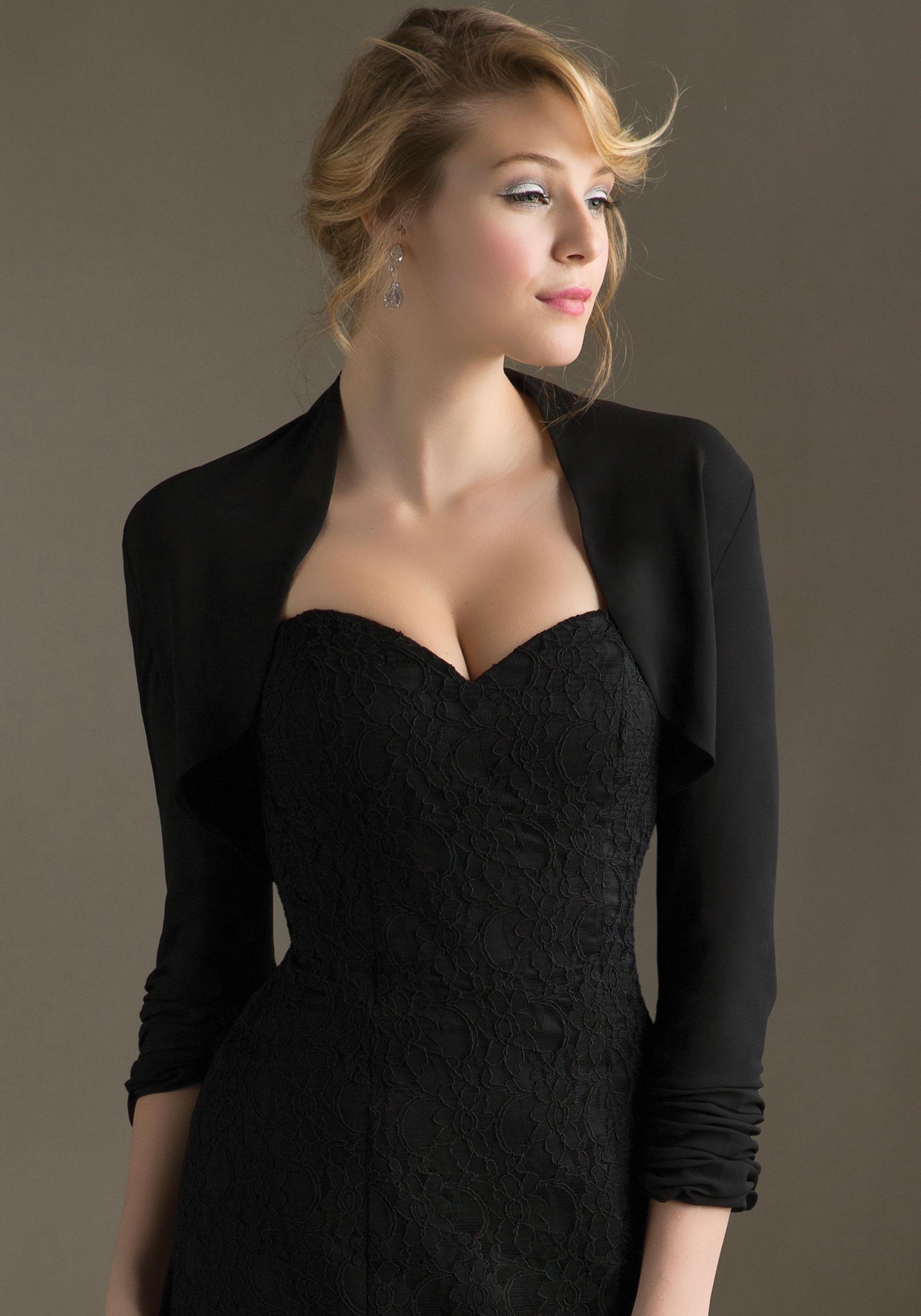 Mori Lee Style No. 843 Chiffon Jacket