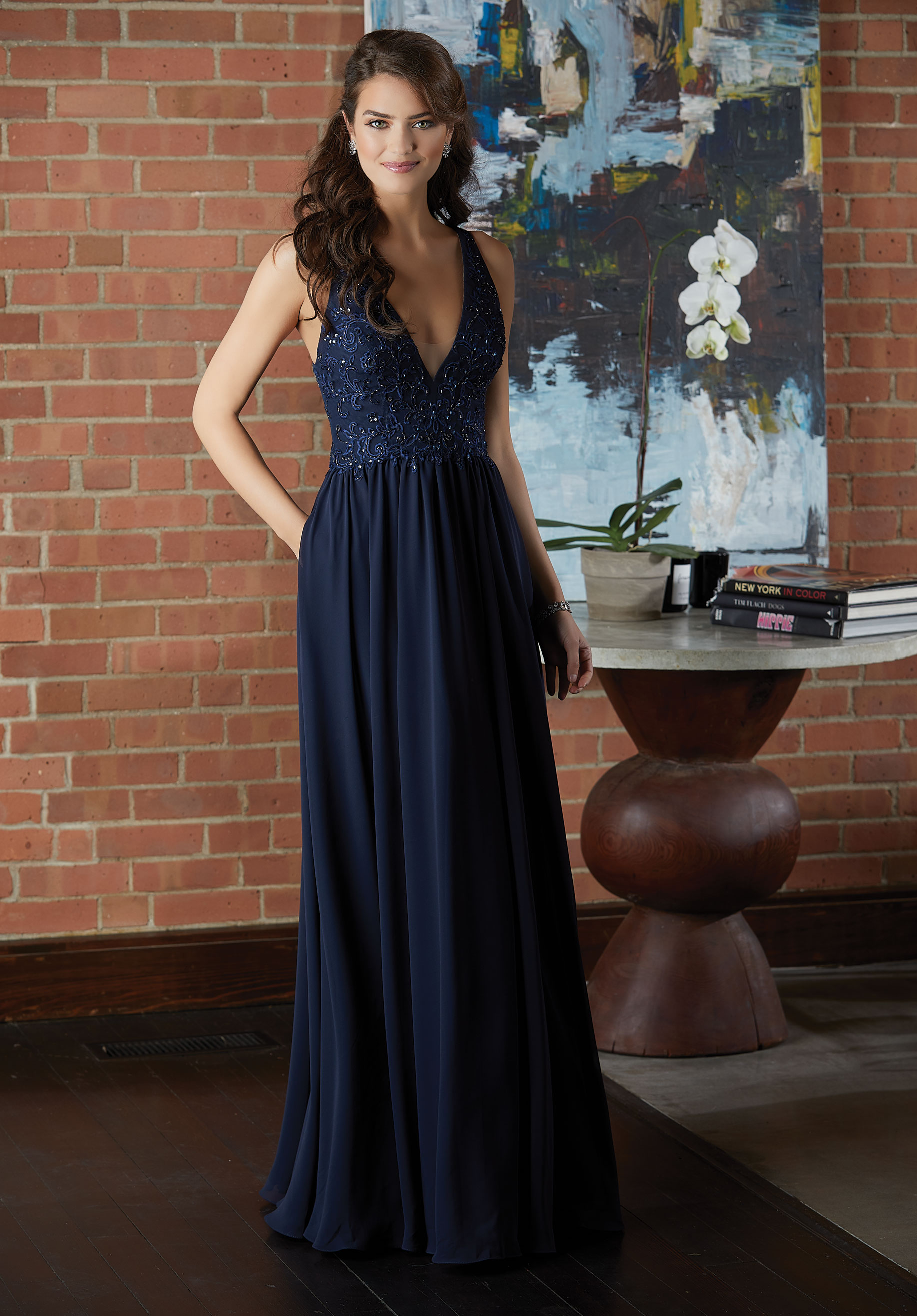 88e40a1c645 Chiffon Bridesmaid Dresses With Pockets